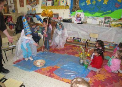 מסיפור להצגה והילדים הם שחקנים - גן במודיעין