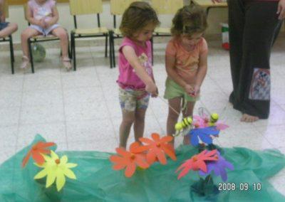 ילדים פעילים בהתנסות חוויתית